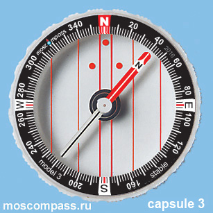 Колба Московский компас модель 3